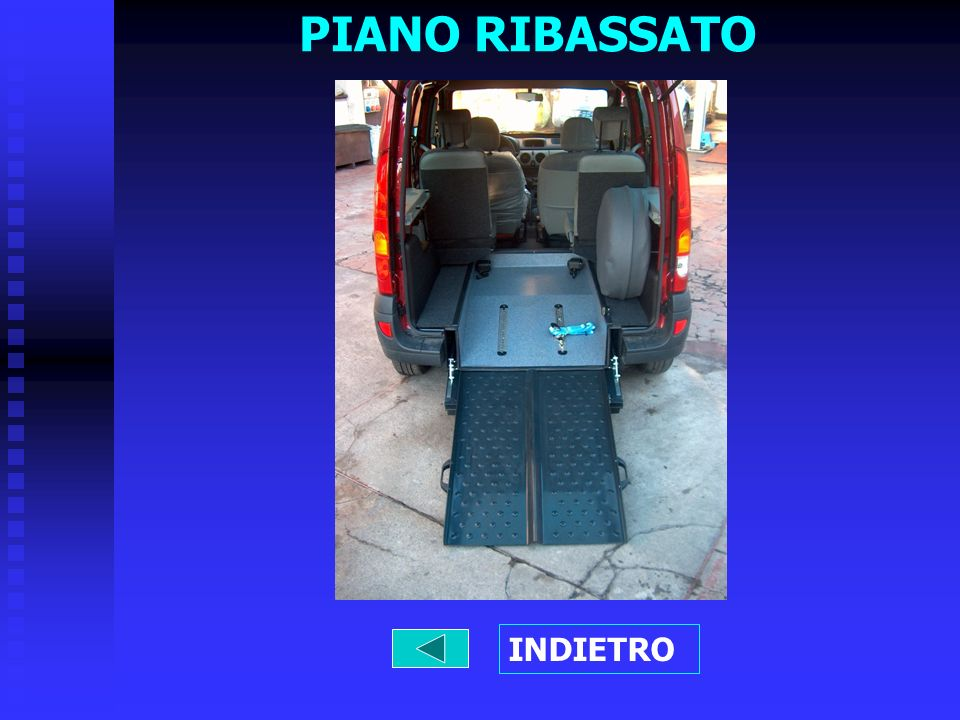 PIANO RIBASSATO INDIETRO