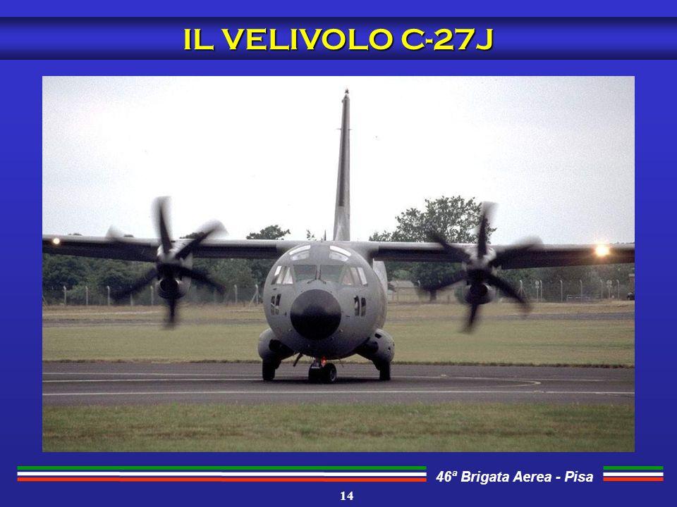 IL VELIVOLO C-27J 14