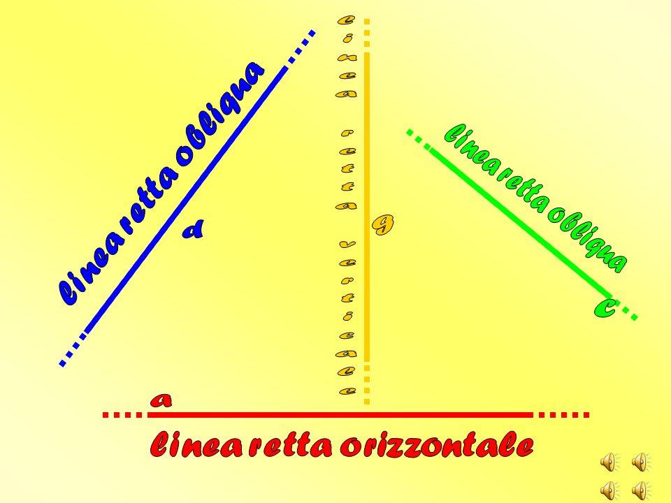 linea retta orizzontale