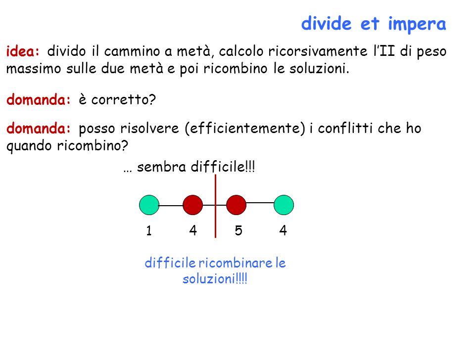 difficile ricombinare le soluzioni!!!!