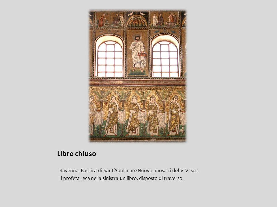 Libro chiuso Ravenna, Basilica di Sant'Apollinare Nuovo, mosaici del V-VI sec.