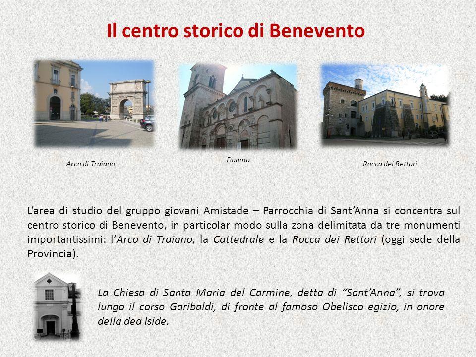 Il centro storico di Benevento