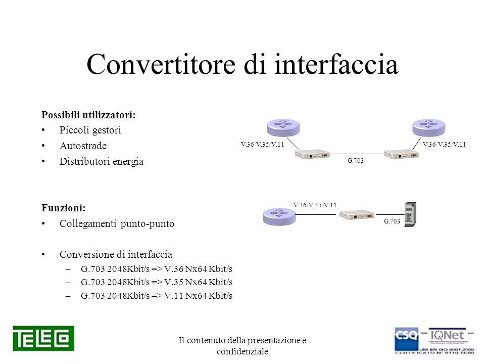 Convertitore di interfaccia