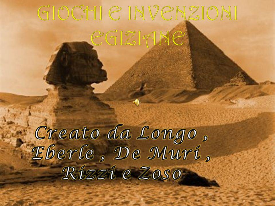 Giochi e invenzioni egiziane