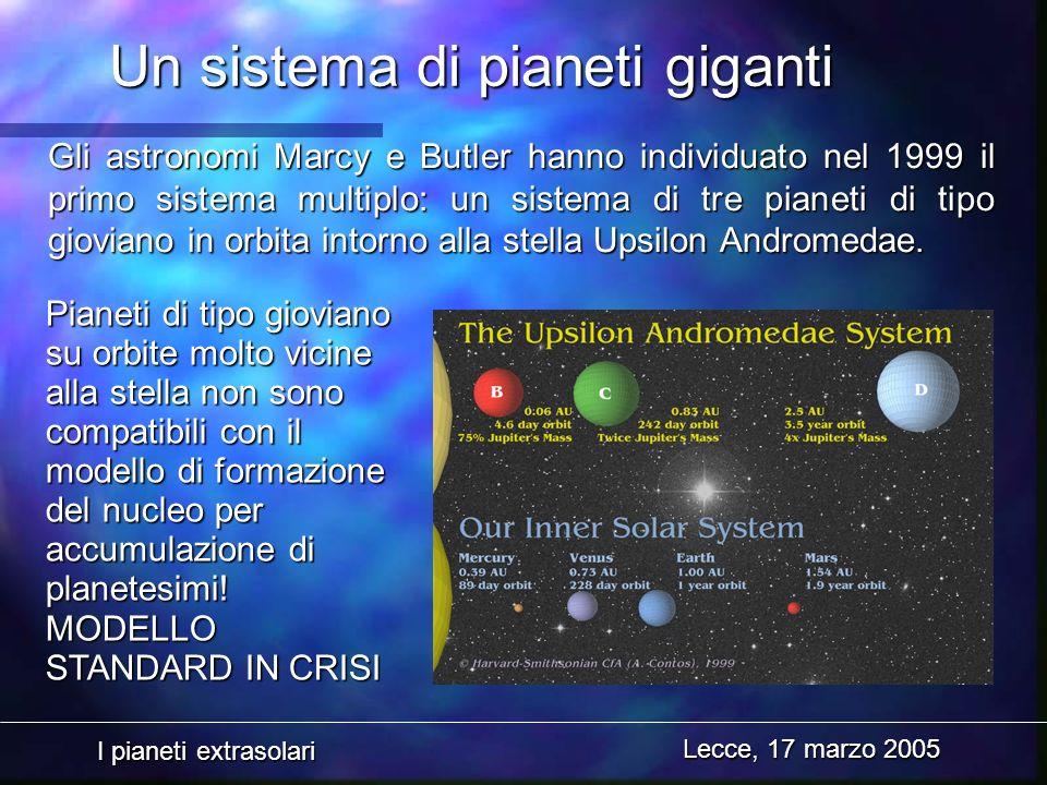Un sistema di pianeti giganti
