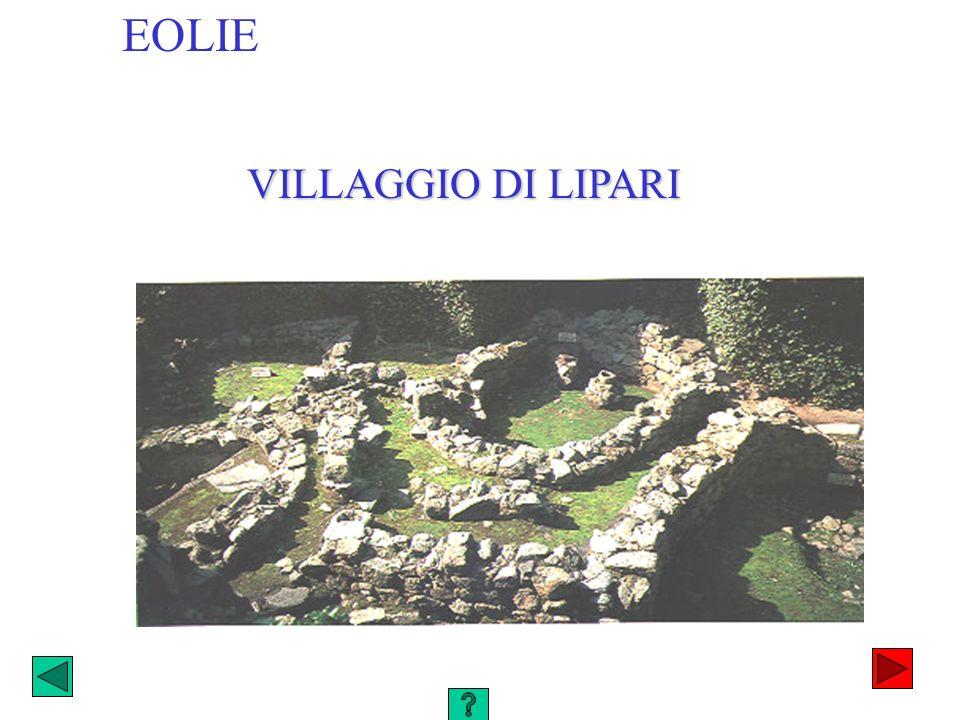 EOLIE VILLAGGIO DI LIPARI