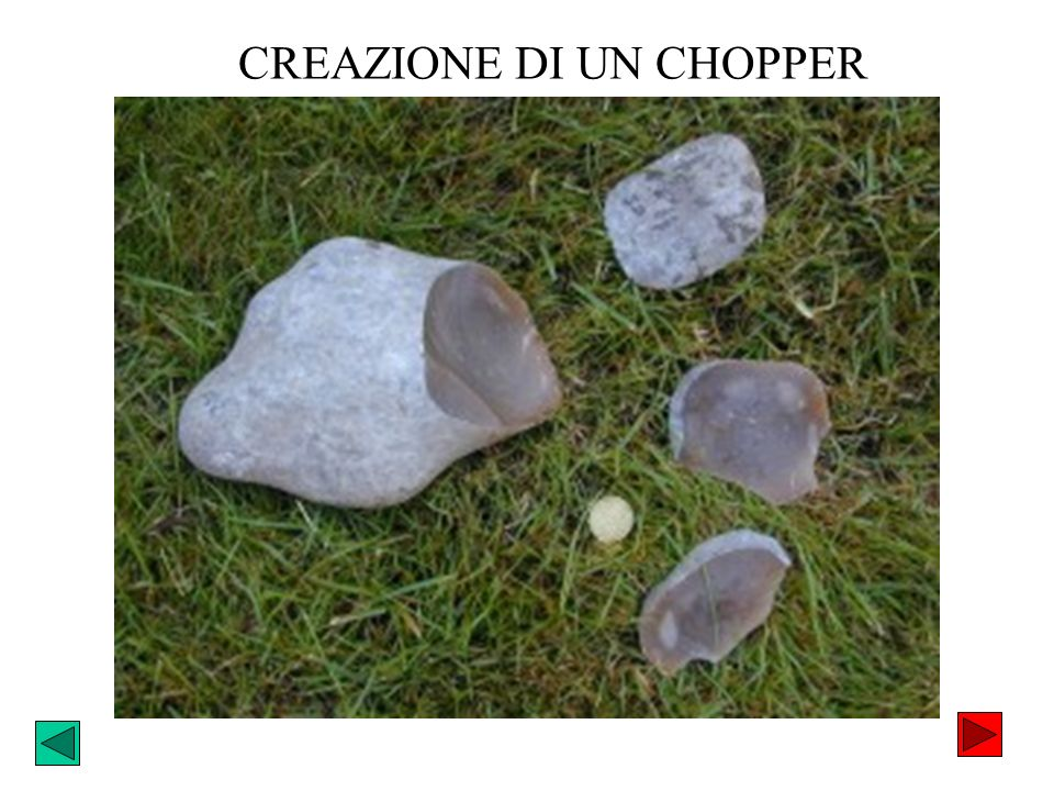 CREAZIONE DI UN CHOPPER