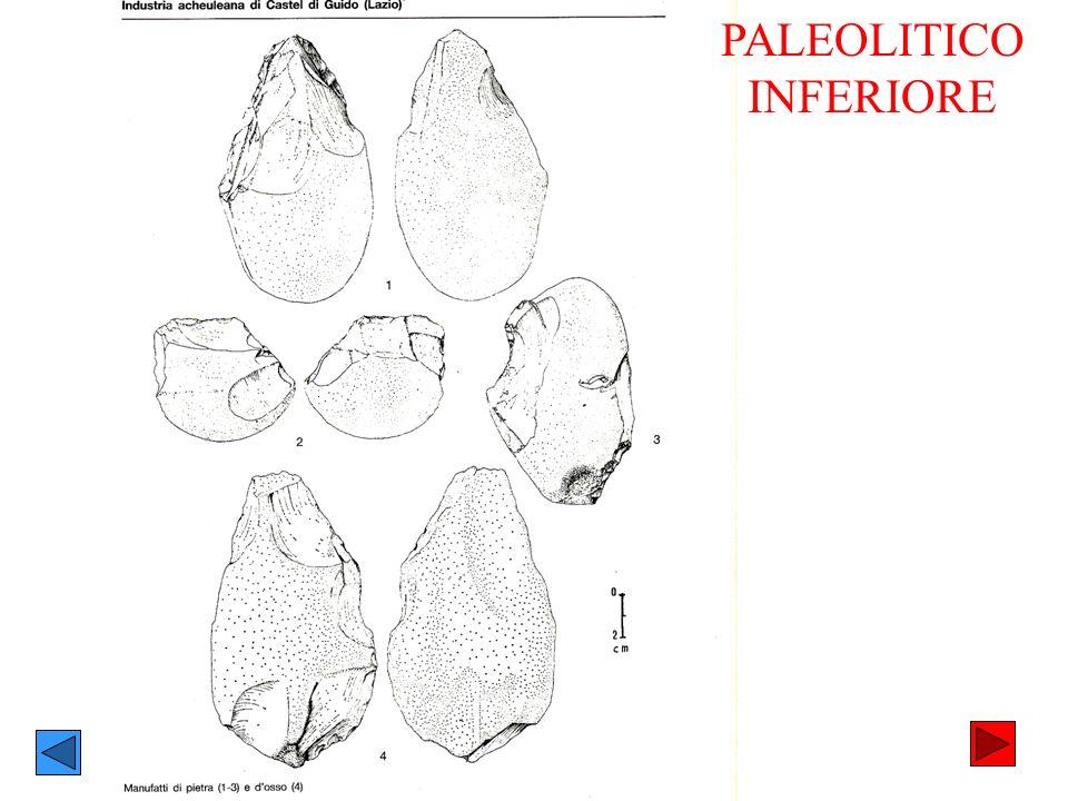 PALEOLITICO INFERIORE