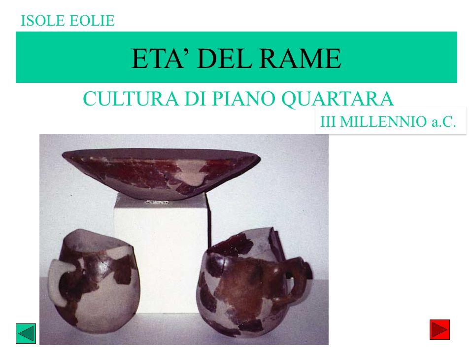CULTURA DI PIANO QUARTARA