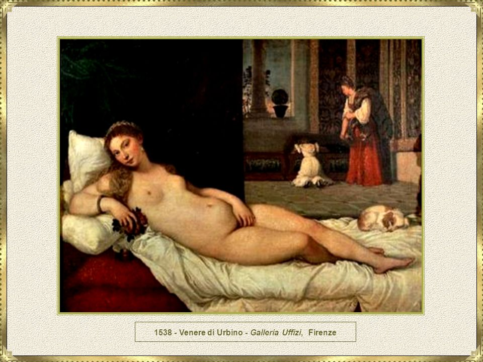 1538 - Venere di Urbino - Galleria Uffizi, Firenze