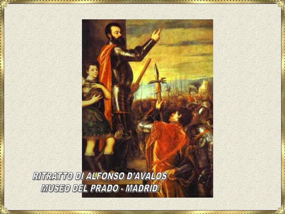 RITRATTO DI ALFONSO D AVALOS MUSEO DEL PRADO - MADRID