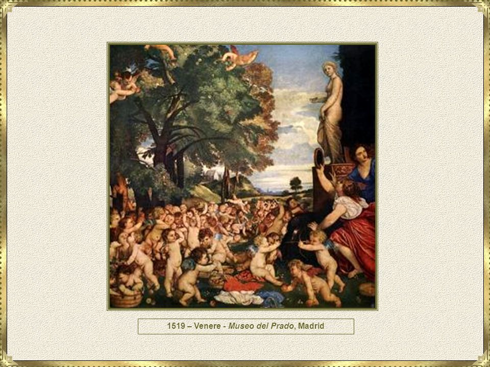 1519 – Venere - Museo del Prado, Madrid