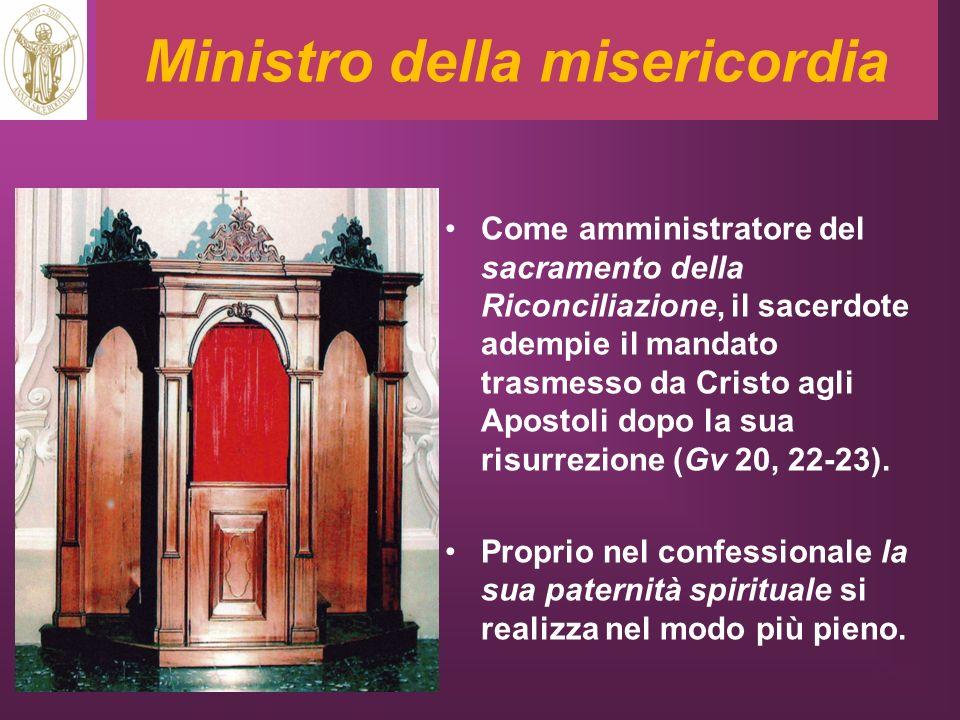 Ministro della misericordia
