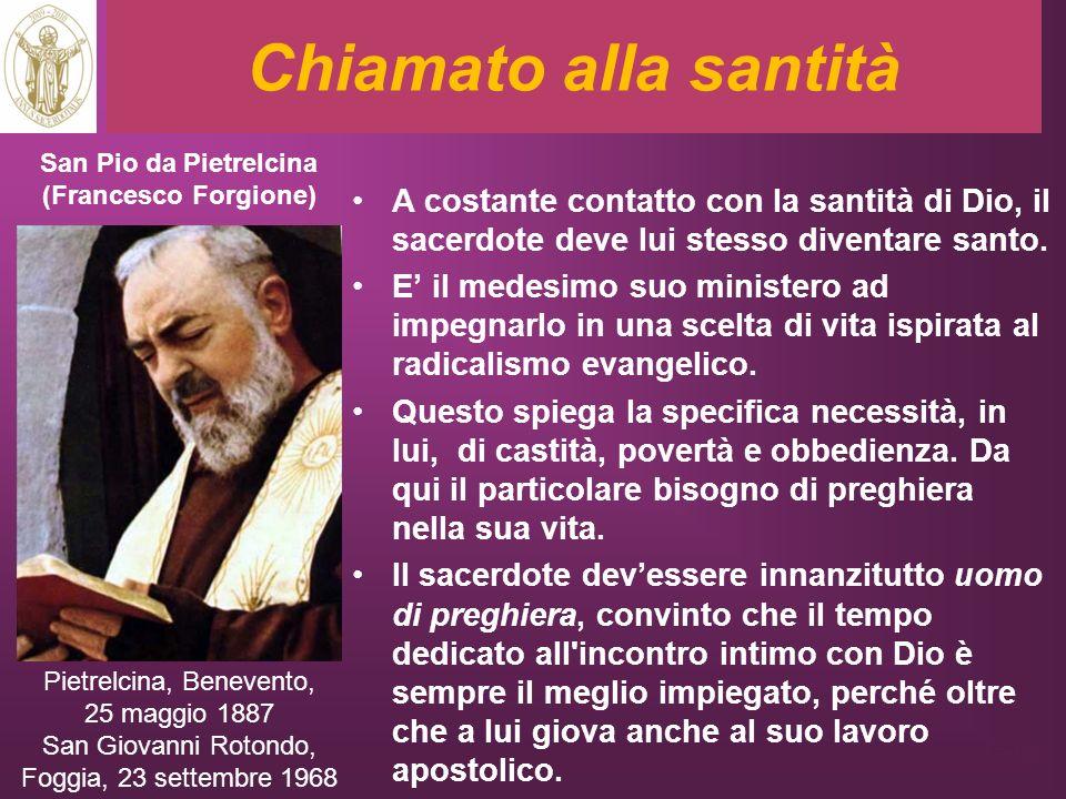 San Pio da Pietrelcina (Francesco Forgione)