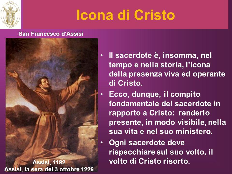 Assisi, la sera del 3 ottobre 1226