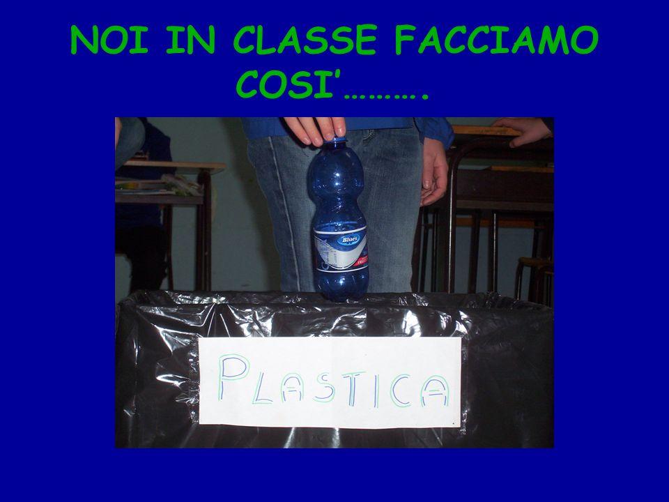 NOI IN CLASSE FACCIAMO COSI'……….