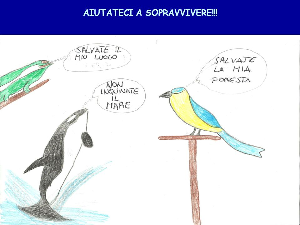 AIUTATECI A SOPRAVVIVERE!!!