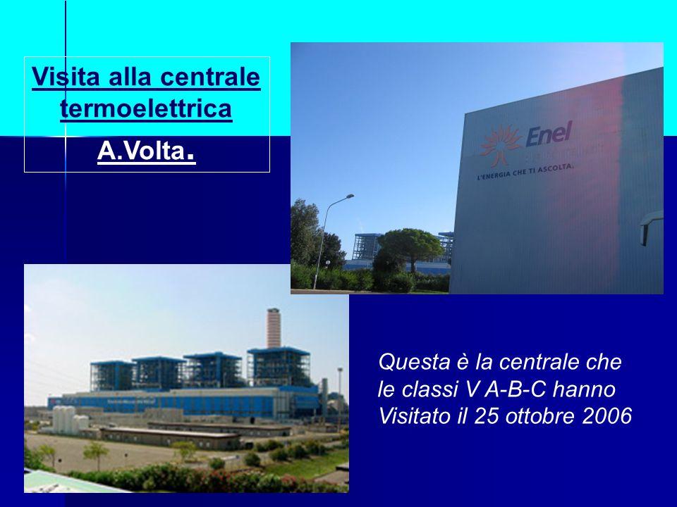 Visita alla centrale termoelettrica A.Volta.