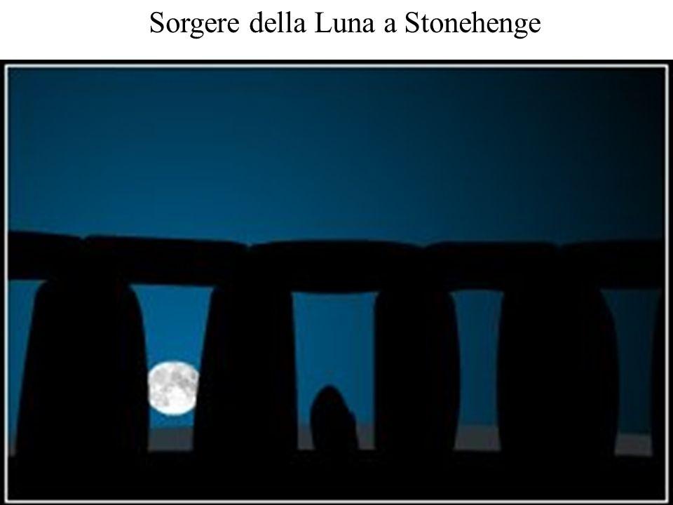 Sorgere della Luna a Stonehenge