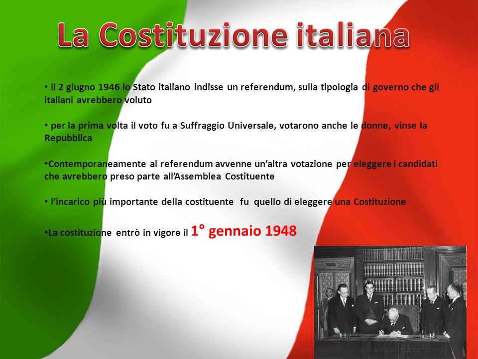 La Costituzione italiana