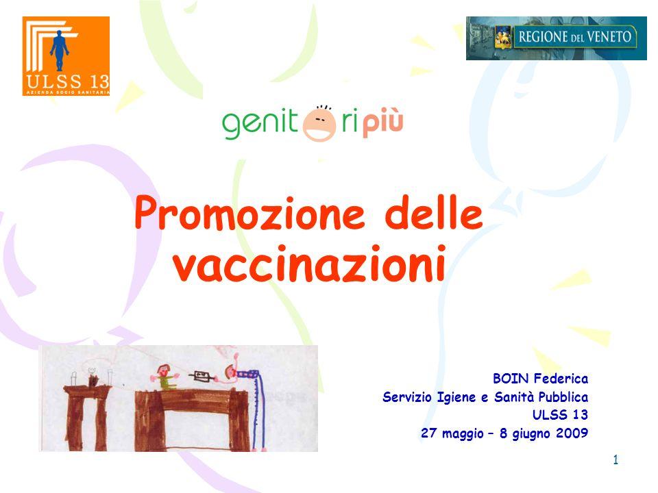 Promozione delle vaccinazioni