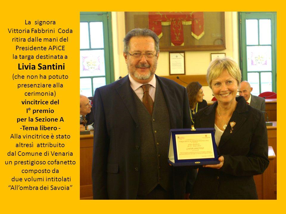 Livia Santini La signora Vittoria Fabbrini Coda
