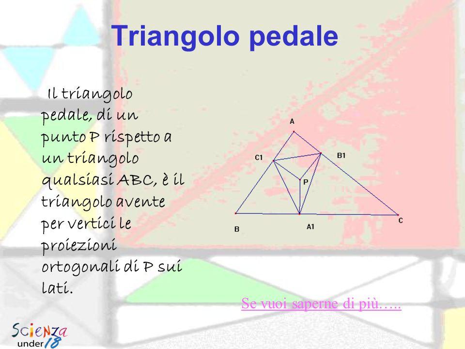 Triangolo pedale