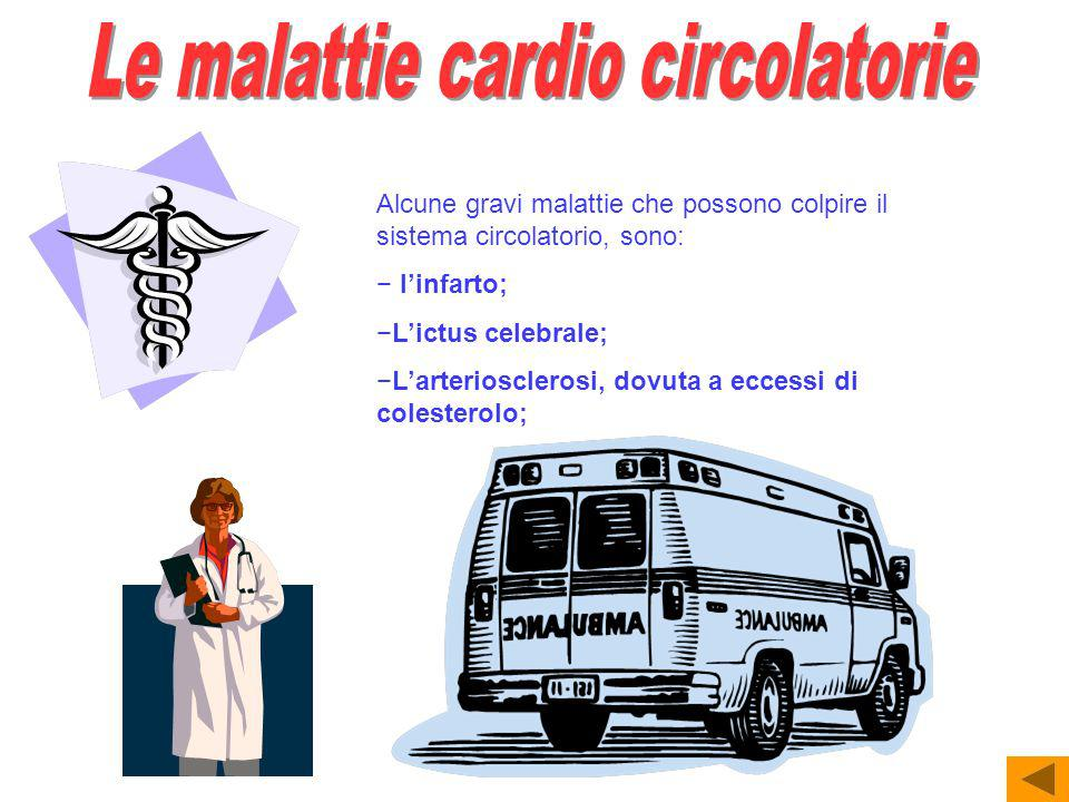 Le malattie cardio circolatorie