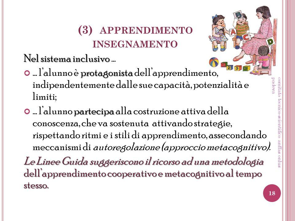 (3) apprendimento insegnamento