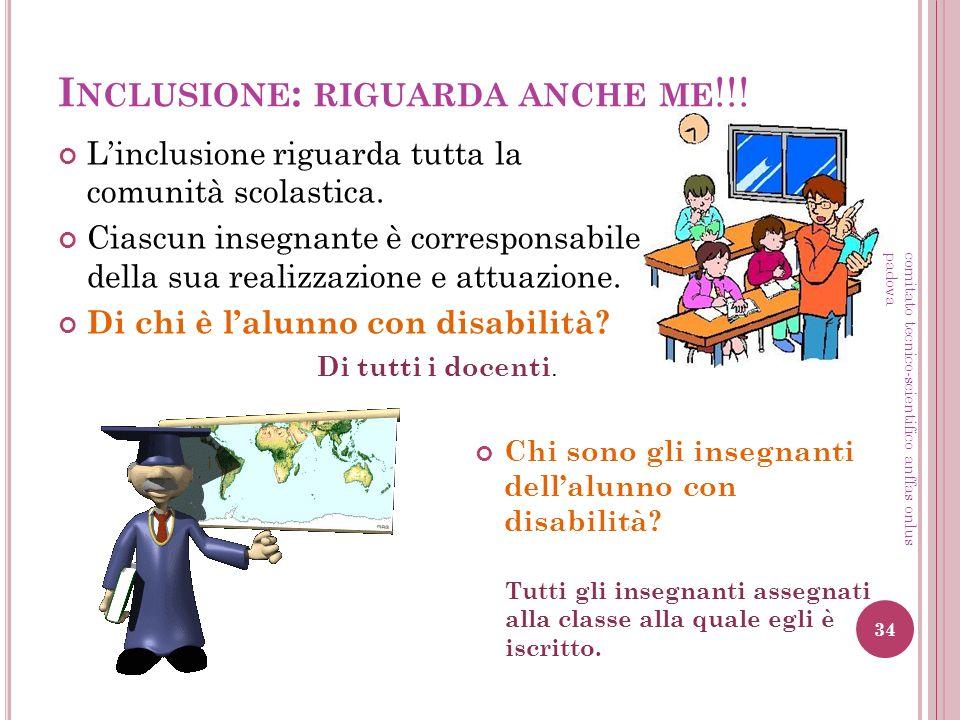 Inclusione: riguarda anche me!!!