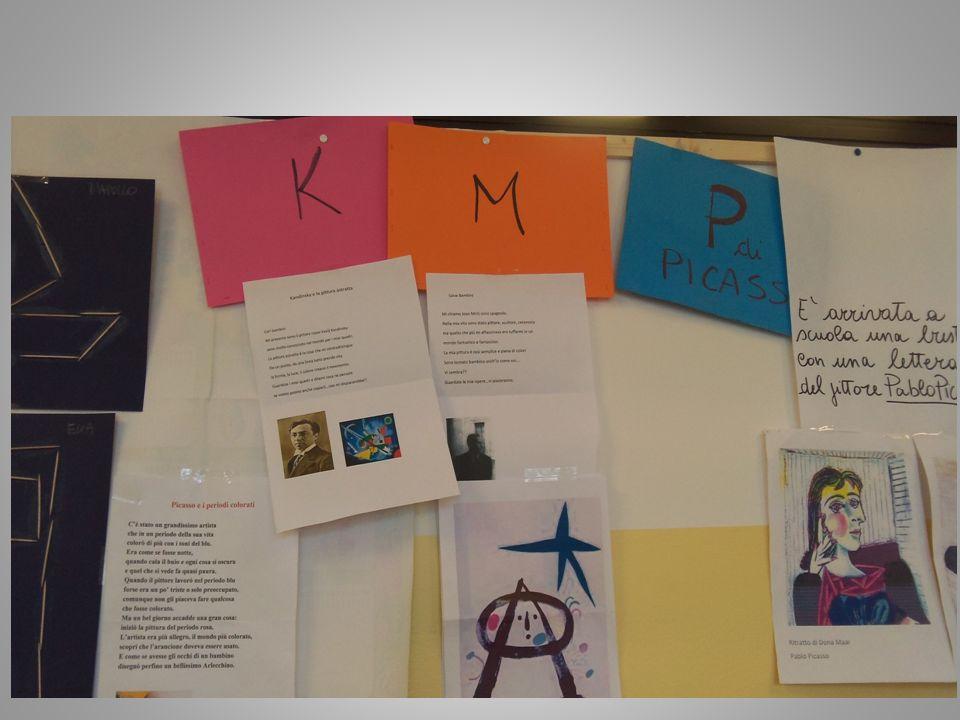 Kandinsky, Mirò, Mondrian…gli artisti si presentano….