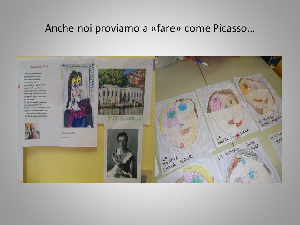 Anche noi proviamo a «fare» come Picasso…
