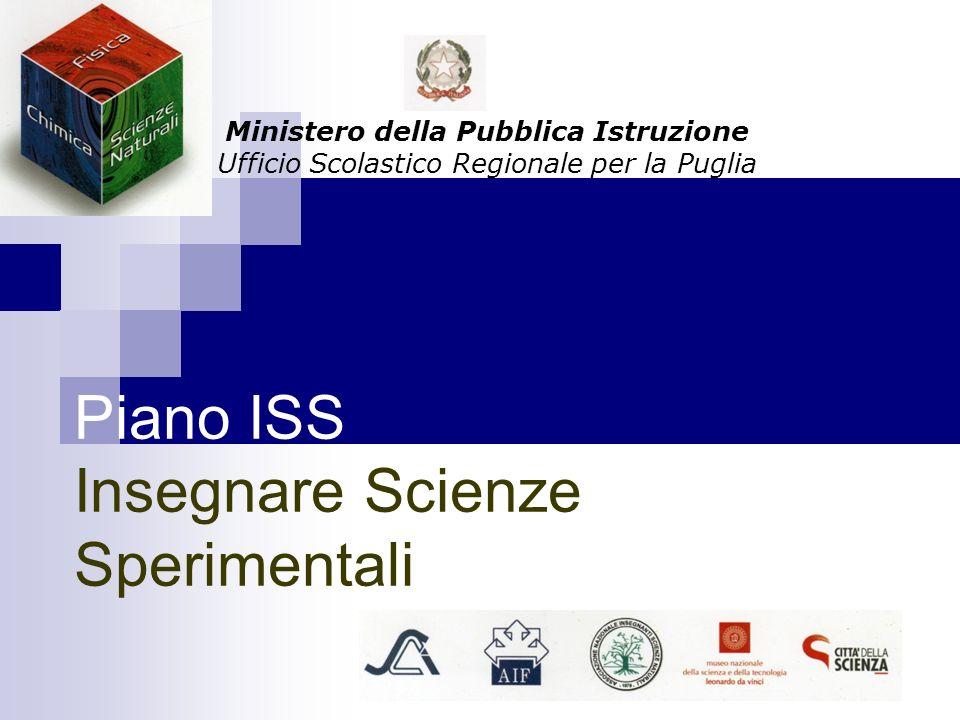 Piano ISS Insegnare Scienze Sperimentali
