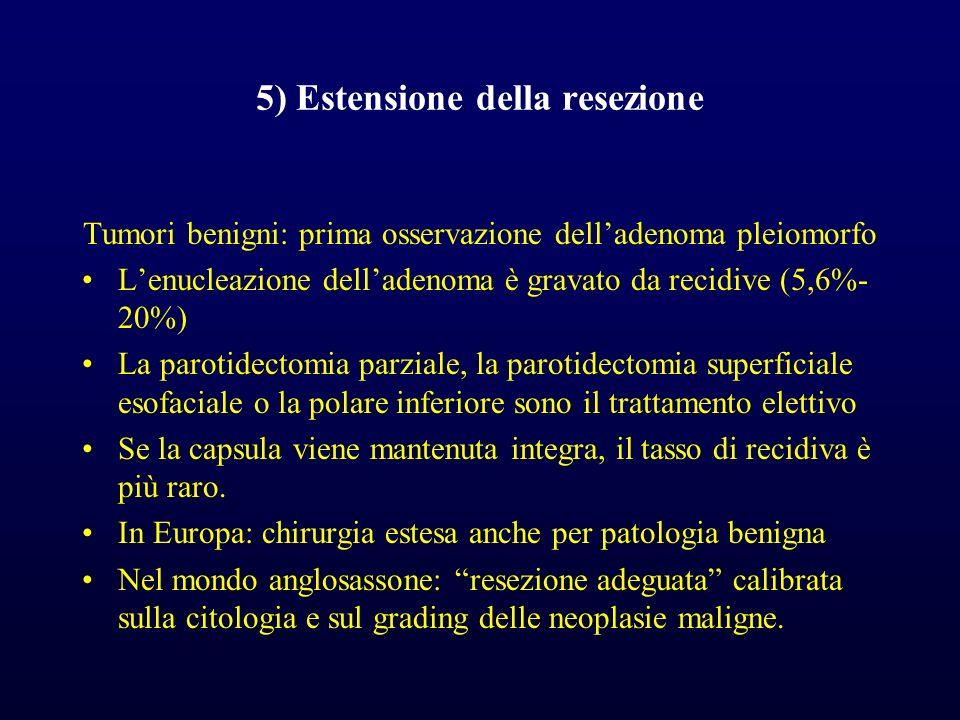 5) Estensione della resezione