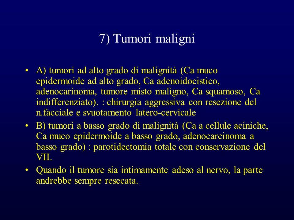 7) Tumori maligni