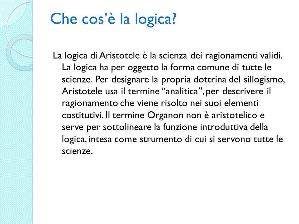 Che cos'è la logica