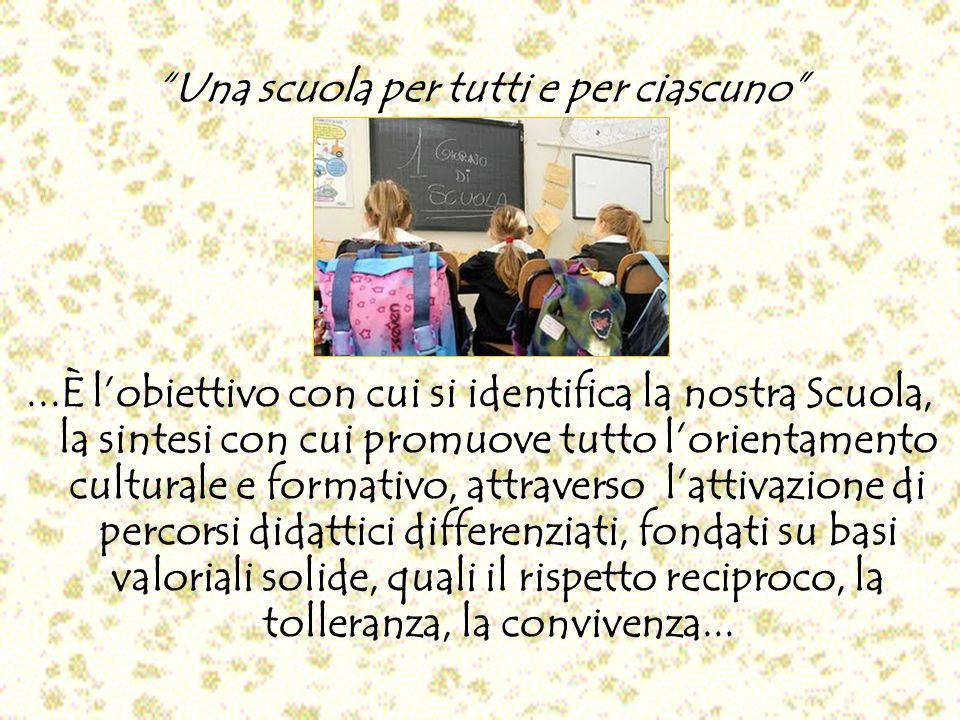 Una scuola per tutti e per ciascuno