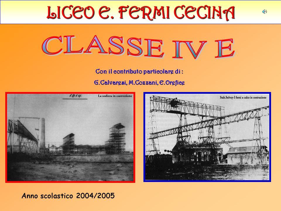 Con il contributo particolare di : G.Calvaresi, M.Cozzani, E.Orefice