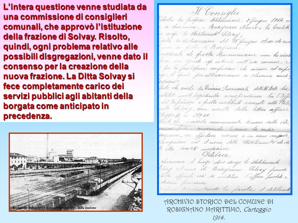 ARCHIVIO STORICO DEL COMUNE DI ROSIGNANO MARITTIMO, Carteggio 1914.