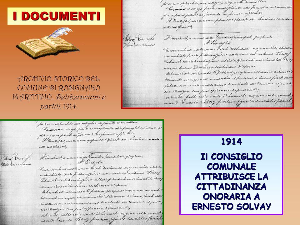 I DOCUMENTI ARCHIVIO STORICO DEL COMUNE DI ROSIGNANO MARITTIMO, Deliberazioni e partiti, 1914. 1914.
