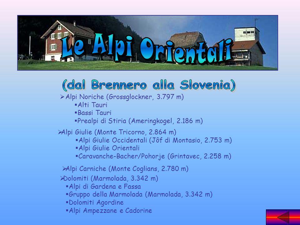 (dal Brennero alla Slovenia)