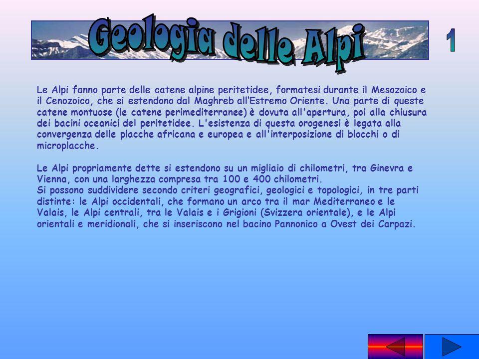 Geologia delle Alpi 1.