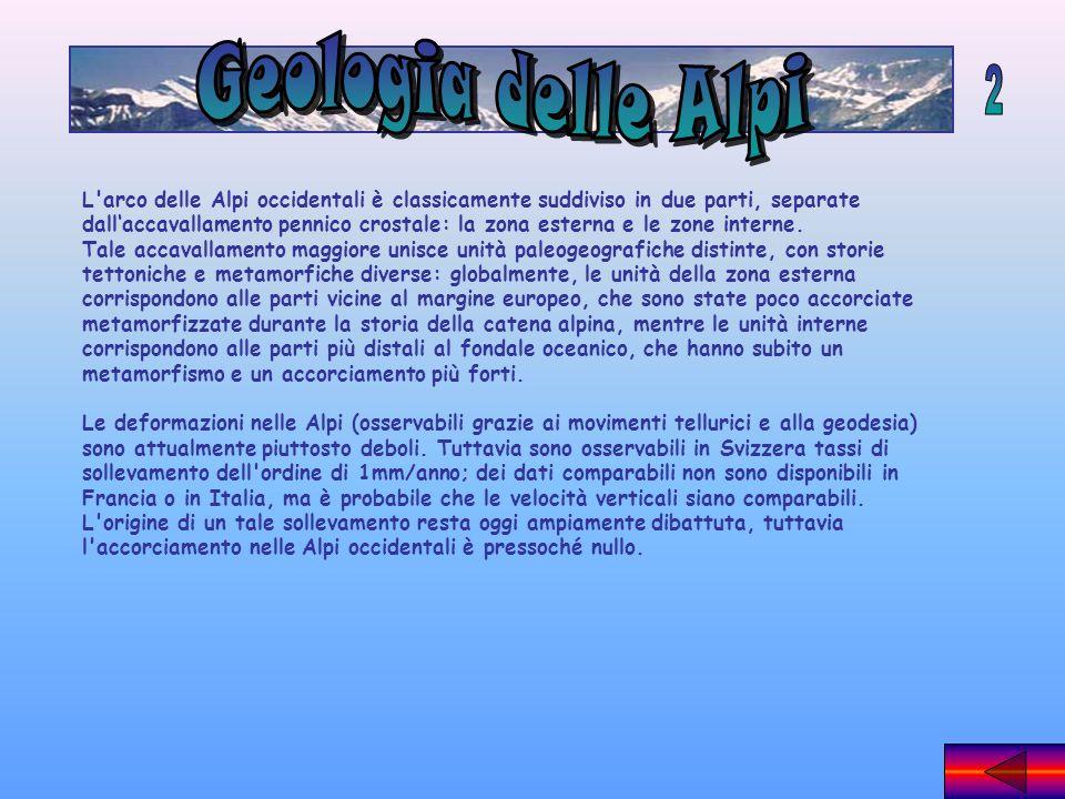 Geologia delle Alpi 2.