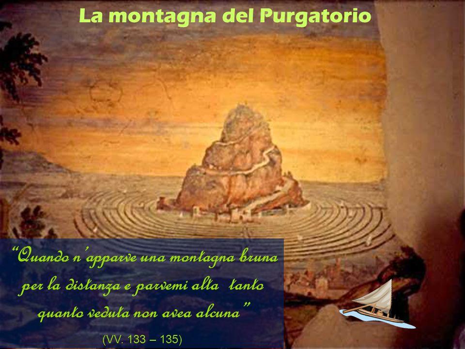 La montagna del Purgatorio