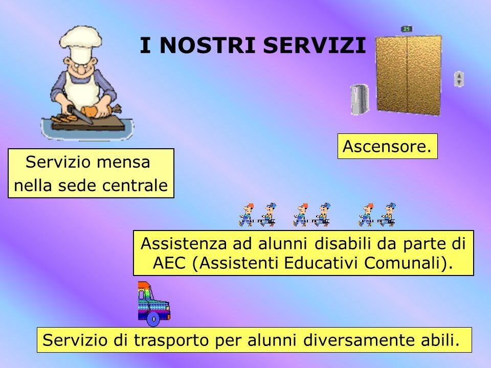 Servizio di trasporto per alunni diversamente abili.