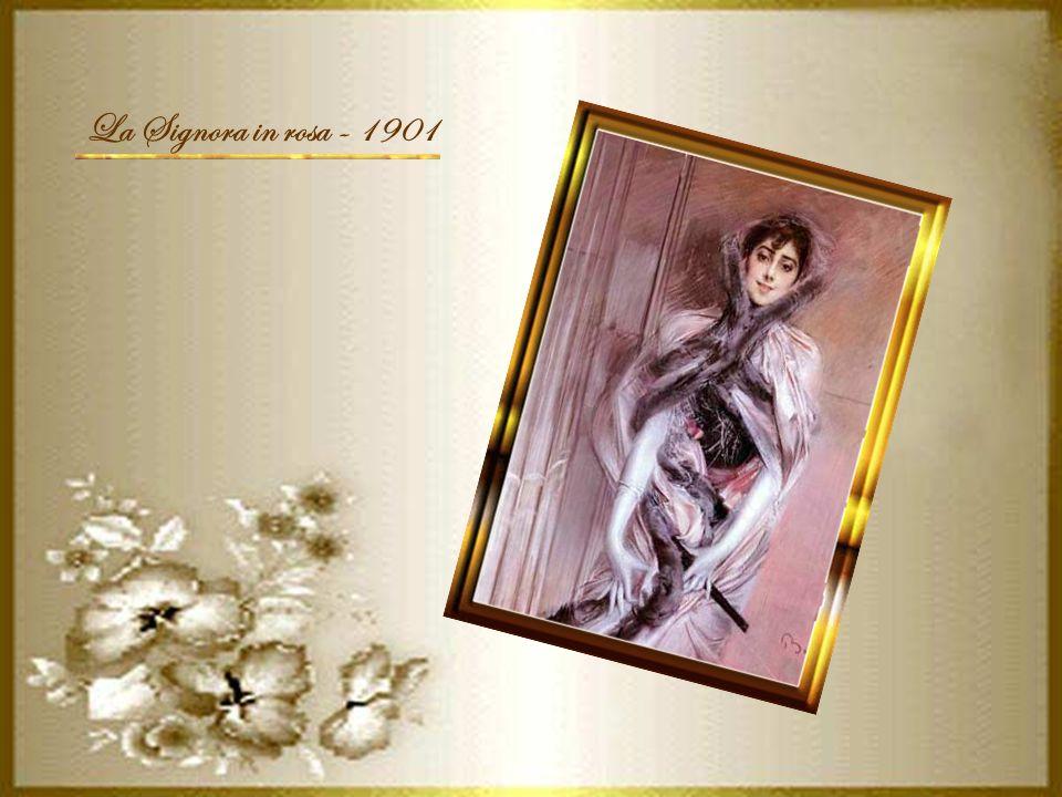 La Signora in rosa - 1901