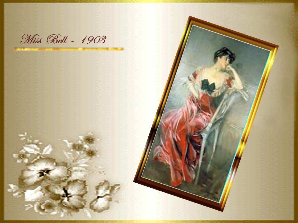 Miss Bell - 1903