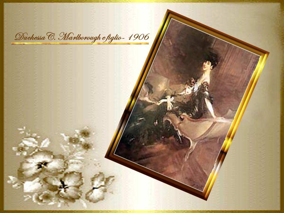 DuchessaC. Marlborough e figlio- 1906