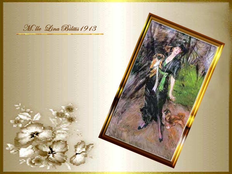 M. lle Lina Bilitis1913