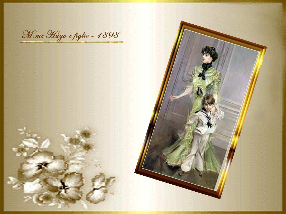 M.me Hugo e figlio - 1898